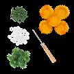 Yellow, Chic Chrysanthemums Forever Flowerz - Makes 30 | Bild 3