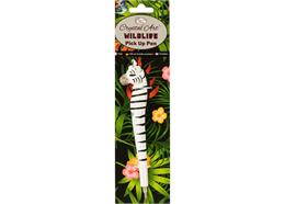 Zebra, Wildlife Crystal Art Pick Up Pen