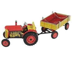 ZETOR Tractor with Trailer rot
