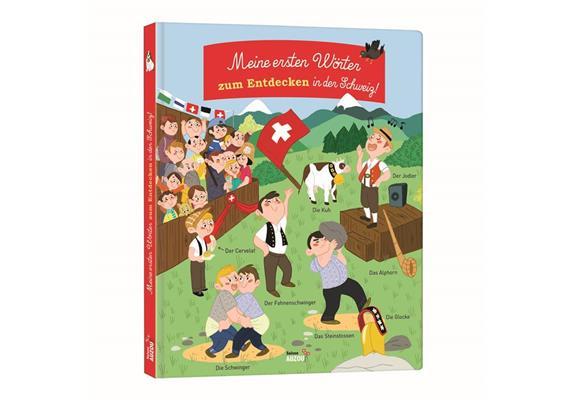 Zum Entdecken in der Schweiz, Buch 26 Seiten, ab 2 Jahre
