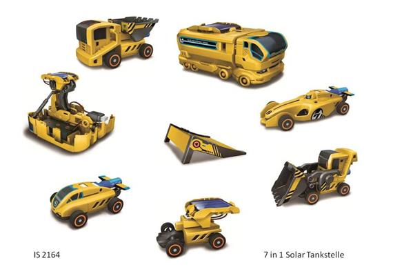 7 in 1 Solar Tankstelle