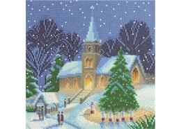 Chants de Noël, 30x30cm Crystal Art Kit