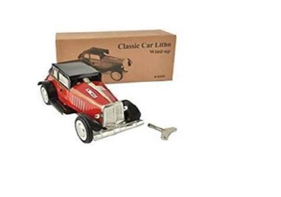 CLASSIC CAR LITHO-MAROON