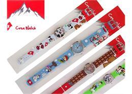 Creawatch, Display Schweizer Collection, 18 Uhren