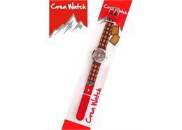 Creawatch Kinderuhr, Schweizer Collection Schokolade