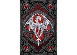 Dragon de la bravoure, Crystal Art Carnet de notes ANNE STOKES