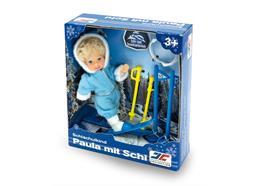 École de ski enfant Paula avec ski