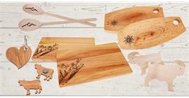 Gamme standard de produits en bois