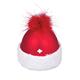Glas Ornament Mütze mit CH-Kreuz zum aufhängen, 5 x 5.5cm
