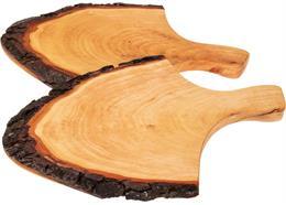 Griffrinde - Rindenscheibe mit Griff 36 - 42 cm Holzoberfläche geölt