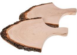 Griffrinde - Rindenscheibe mit Griff 36 - 42 cm ohne Oberflächenbehandlung