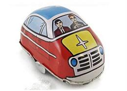 HIGHWAY CAR WIND UP Red