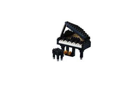 Klavier (Flügel) schwarz / piano black
