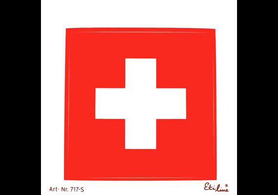 Kleber CH Kreuz S 6.6 cm, wetter,- lichtbeständig
