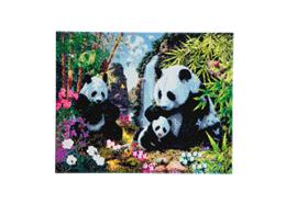 La vallée du panda, 40x50cm Crystal Art Kit