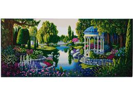 Le jardin secret, 40x90cm Crystal Art Kit