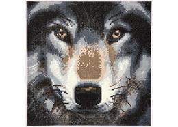 Loup, 30x30cm Crystal Art Kit