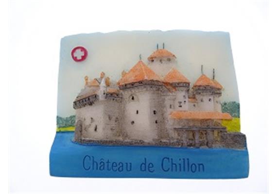 Magnet Château de Chillon, Seesicht