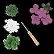 Mauve, Romantic Roses Forever Flowerz - Makes 35   Bild 3