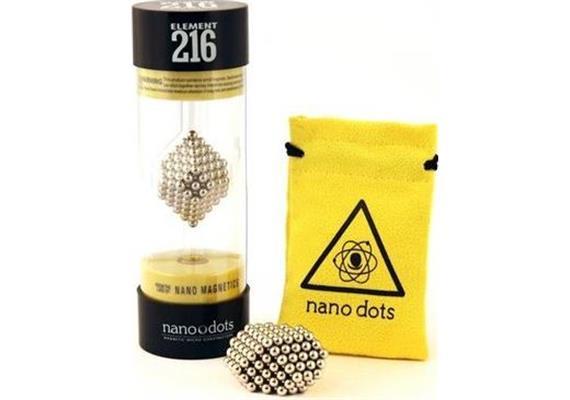 Nanodots 216 Argent/Silver
