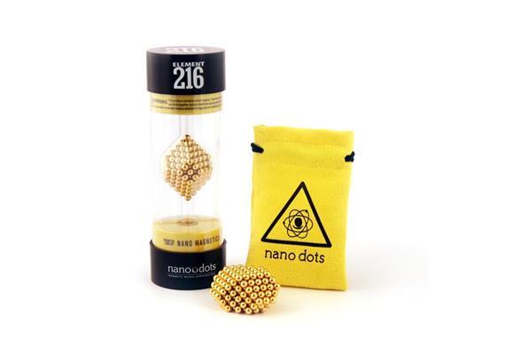 Nanodots 216 or/Gold