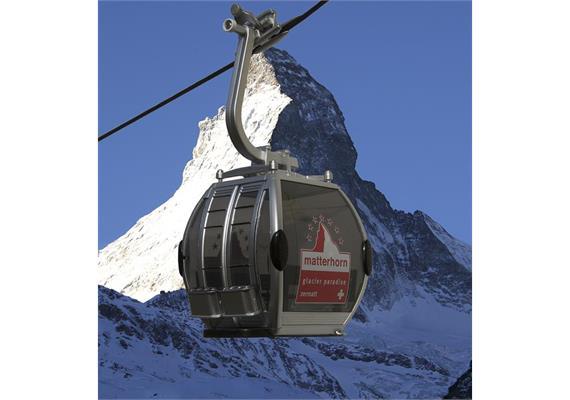 "Omega IV Umlaufkabine solo ""Zermatt"""