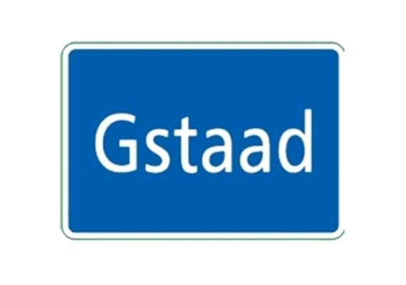 Ortstafel Gstaad