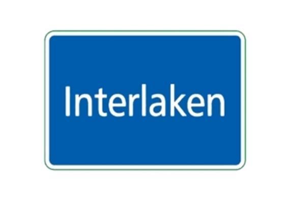 Ortstafel Interlaken