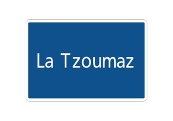 Ortstafel La Tzoumaz