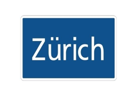 Ortstafel Zürich