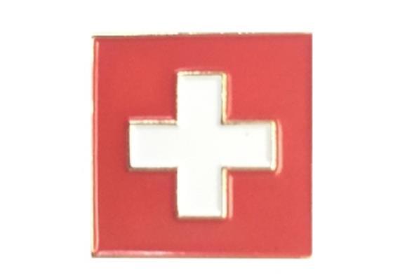 Pin Schweizer Kreuz, Grösse: 15 mm