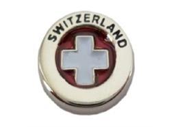 Pin Schweizer Kreuz transparent