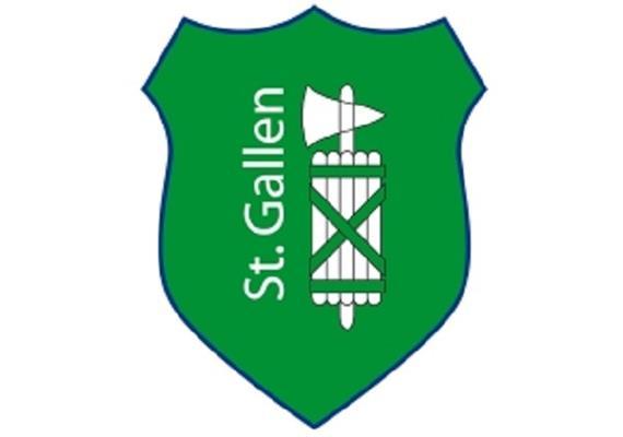 Pin Wappen St. Gallen