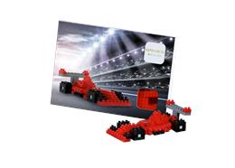Postcard Racing Car