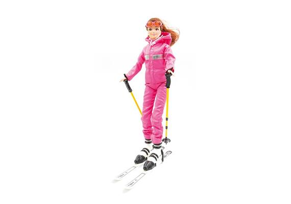 "Poupée d'hiver ""Ski"""