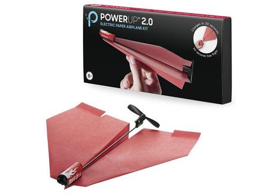 PowerUp 2.0 Kit für elektrischer Papierflieger (ohne Batterien)