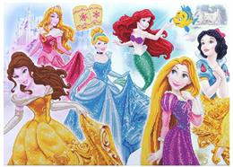 Princesse Disney Medley, Image 90x65cm Crystal Art Kit