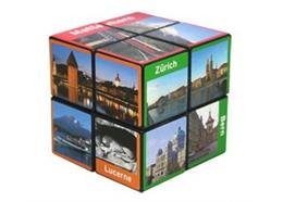 Rubiks Cube © Würfel 2x2, mit Schweizer Motiven, 5.7 cm