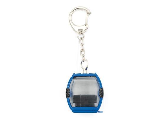 Schlüsselanhänger Omega IV Metall blau