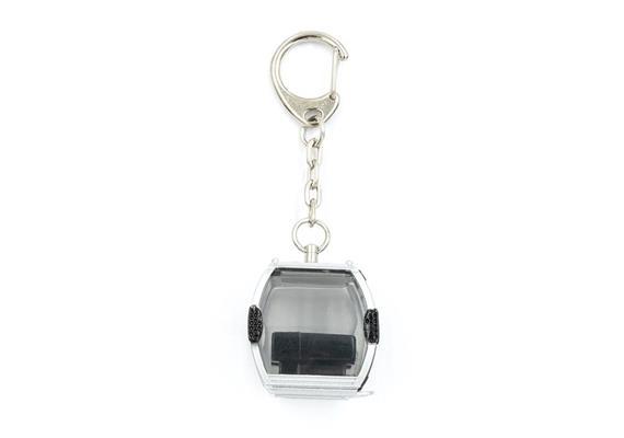 Schlüsselanhänger Omega IV Metall silber