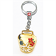 SLA Glocke mit Blumen gold, 3.5 cm