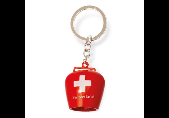 SLA Glocke mit CH Kreuz rot, 3.5 cm