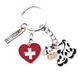 SLA Kuh Switzerland mit Herzanhänger