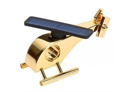 Solar Metall Helikopter, 24 Kt vergoldet