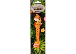 Tiger, Wildlife Crystal Art Pick Up Pen