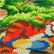 Tigrou rebondissant, Crystal Art Triptyque Partie 1, 40x22cm | Bild 3