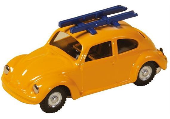 VW Beetle with Ski