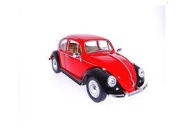 VW Käfer rot schwarz gross, einzeln verpackt