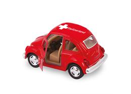 VW Kids rot mittel 1967, Switzerland, 9 cm
