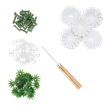 White, Cute Camelias Forever Flowerz - Makes 30   Bild 3